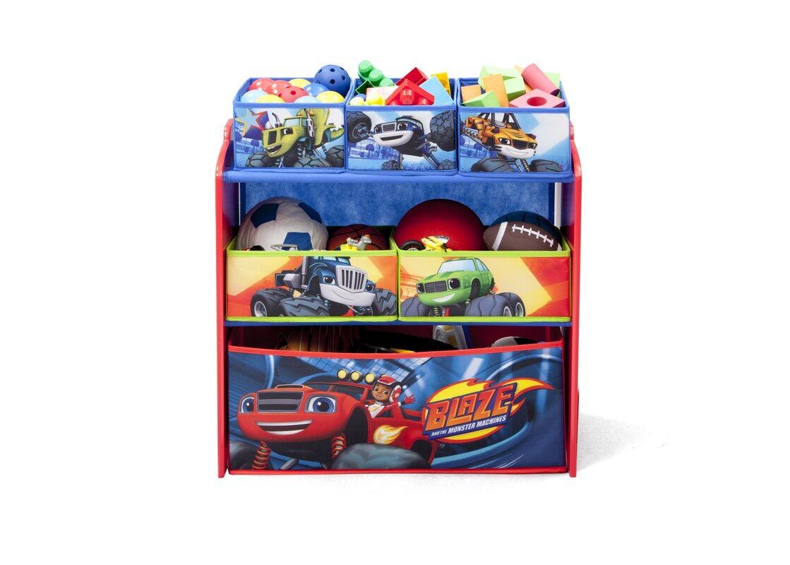 Blaze And The Monster Machines Bedroom Decor