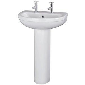 Ultra 54 cm Standwaschbecken Dynamic