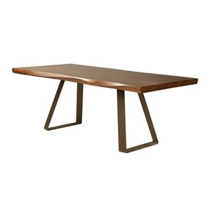 Pressley Maple Sculpted Edge Dining Table..
