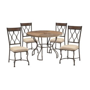 Baye 5 Piece Dining Set by Darby Home Co