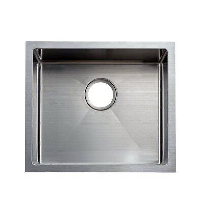 "Undermount Stainless Steel Kitchen Sinks elkay crosstown 22.5"" x 18.5"" stainless steel single bowl"