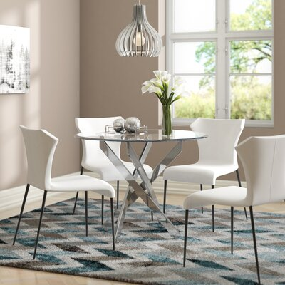 Phenomenal Raquel Glass Dining Table Best Image Libraries Thycampuscom