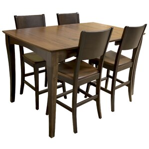 5 Piece Counter Height Dining Set by AmeriHome