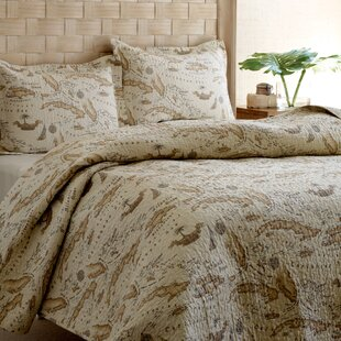 World map bedding wayfair map 3 piece reversible quilt set by tommy bahama bedding gumiabroncs Choice Image