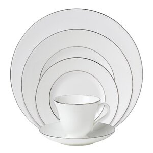 Signet Platinum Bone China 5 Piece Place Setting, Service for 1