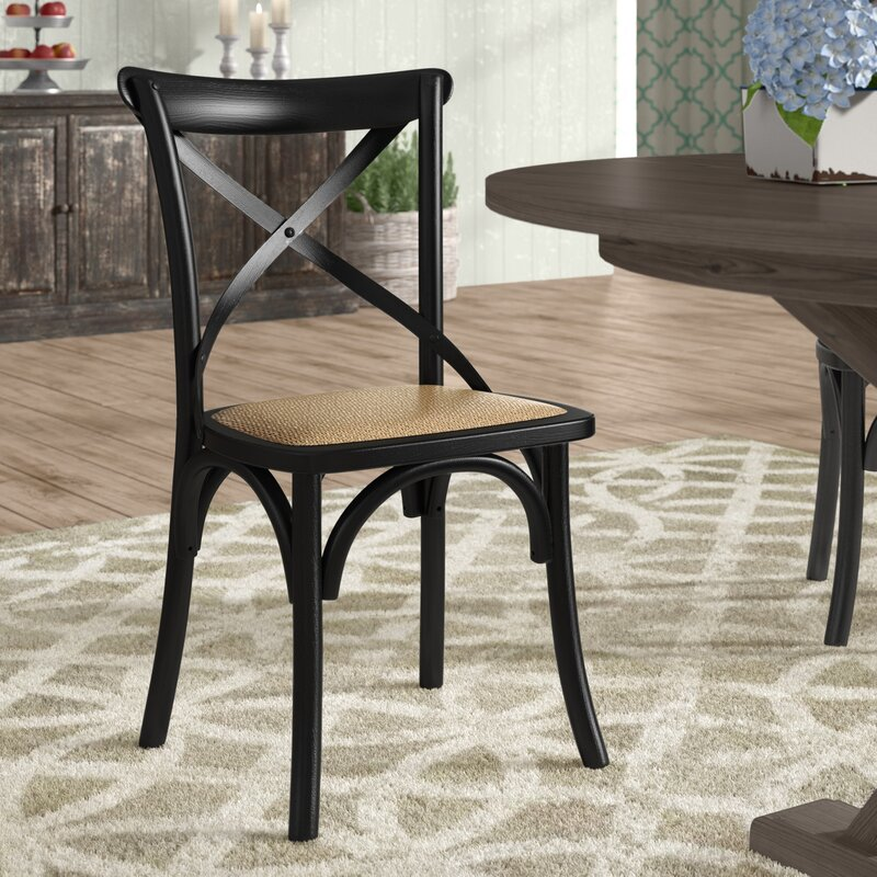 Laurel Foundry Modern Farmhouse Gayla Solid Wood Dining ...