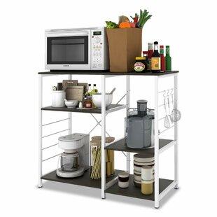 Tarnowski Stand Kitchen Storage Shelves Bar Cart