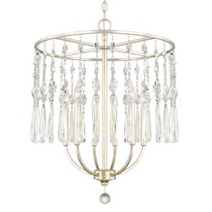 Nolan 6-Light Crystal Chandelier