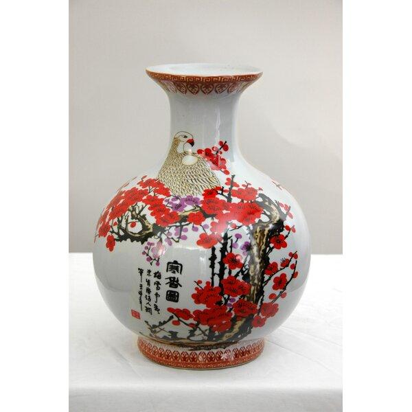 Oriental Furniture Cherry Blossom Vase Amp Reviews Wayfair