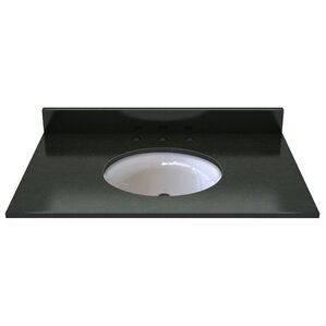 Natural Stone 37  Single Bathroom Vanity TopVanity Tops You ll Love   Wayfair. Vanity Tops With Sink. Home Design Ideas
