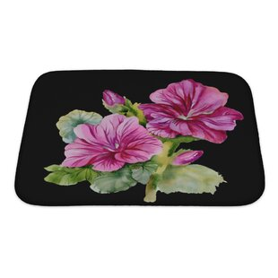 Flowers Colorful Bath Rug