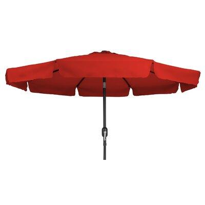 Trademark Innovations 8' Drape Umbrella Color: Red