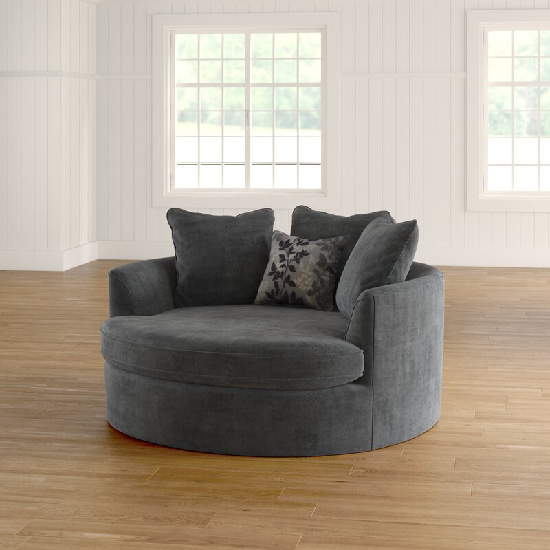 Laurel Foundry Modern Farmhouse Marta Cuddler Chair And A