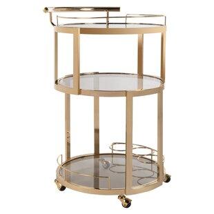 Cudney Wine Rack Bar Cart