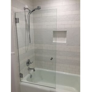 shower tub. Shower Bathtub Doors Youll Love Wayfair Tub shower door