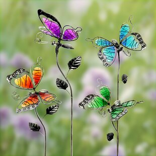 Charmant Butterflies Garden Stakes Lawn U0026 Garden Accents Youu0027ll Love ...
