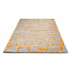 Hythe Gray/Orange Area Rug