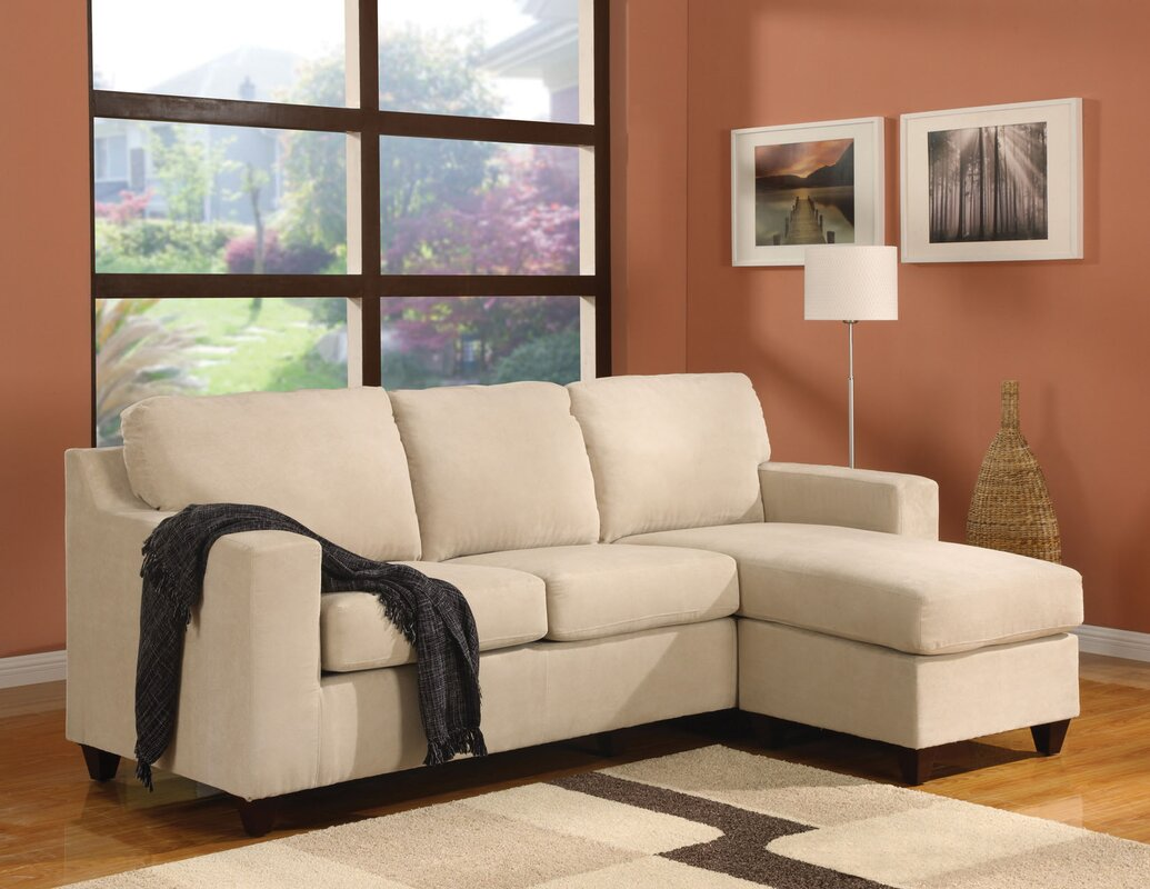 ACME Furniture Vogue Reversible Sectional Reviews Wayfair