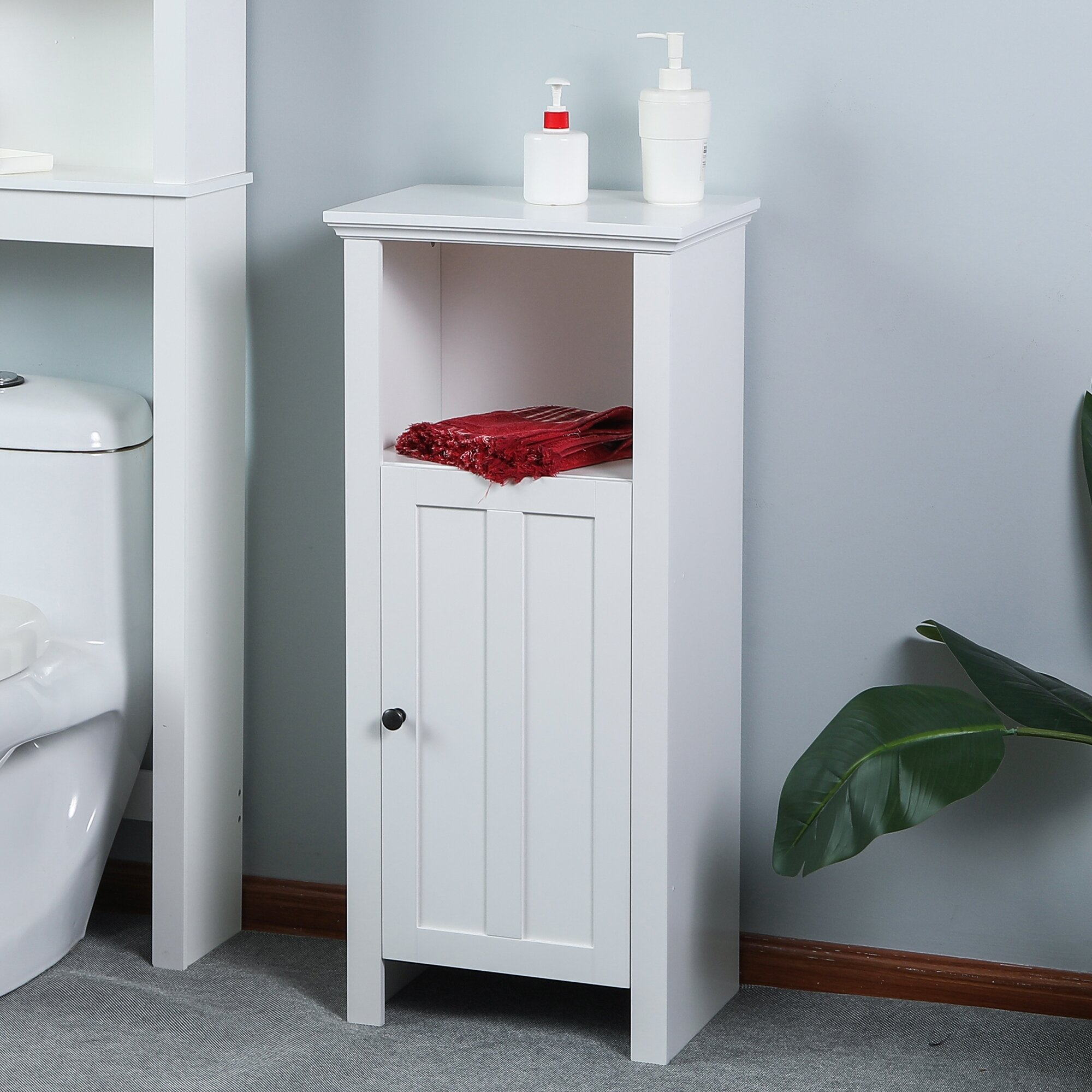 Alcott Hill Antwan Wood Floor Bathroom 15\