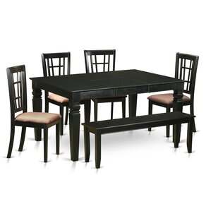 Pennington 6 Piece Dining Set by Beachcrest Home