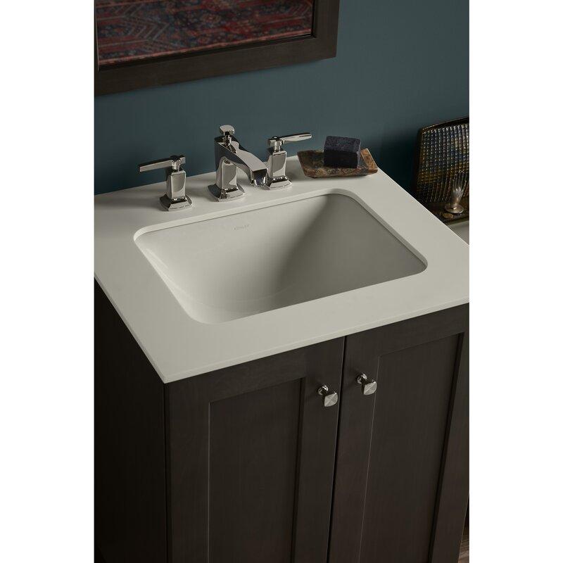 K 20000 0 33 47 Kohler Caxton Ceramic Rectangular Undermount Bathroom Sink With Overflow
