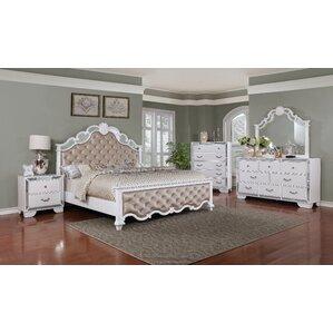 6 piece bedroom set. Latimer Panel Configurable 6 Piece Bedroom Set Queen  Wayfair