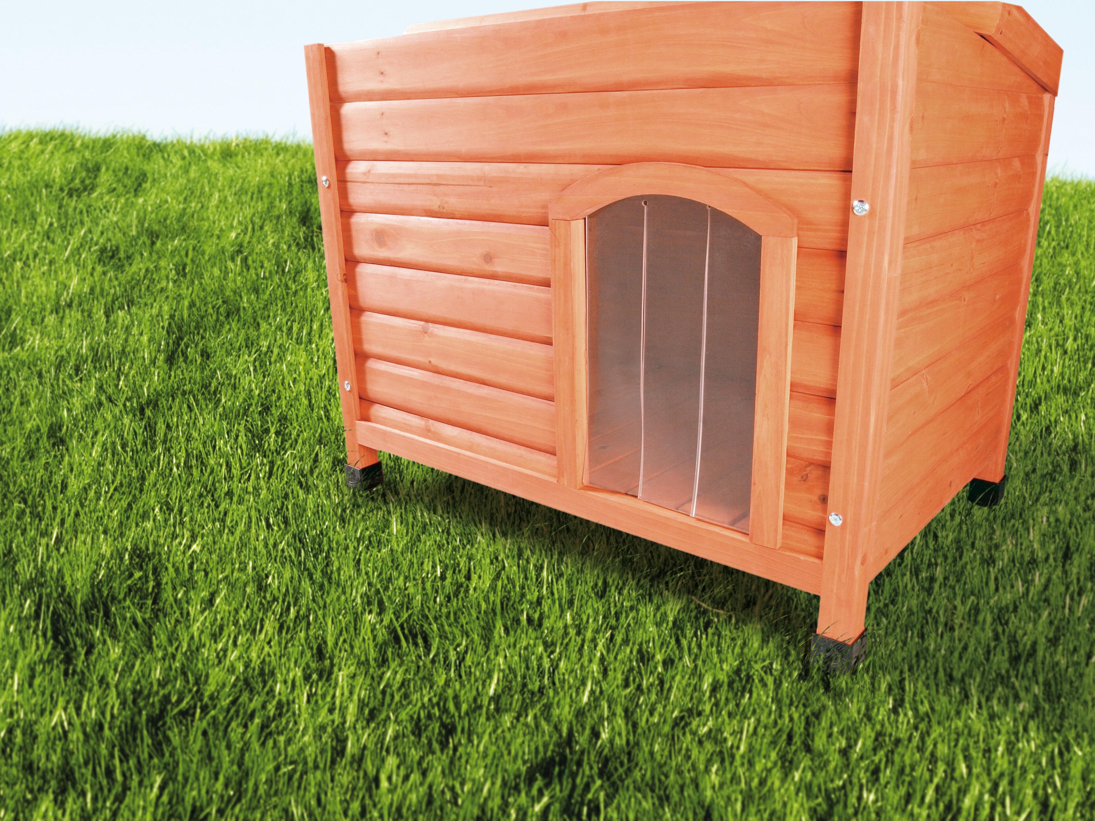 Tucker Murphy Pet Malinda Plastic Door for Peaked Roof Dog House u0026 Reviews   Wayfair & Tucker Murphy Pet Malinda Plastic Door for Peaked Roof Dog House ...