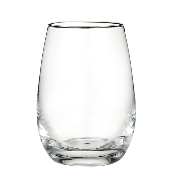 marquis by waterford vintage 16 oz stemless wine glass u0026 reviews wayfair