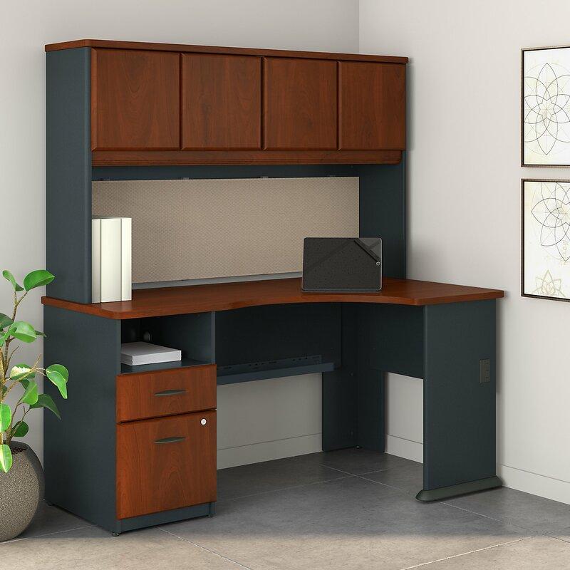Bush Business Furniture Series A L Shaped Corner Desk With
