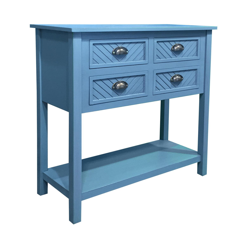 Gracie Oaks Pfeffer Wood 4 Drawer Accent Cabinet   Wayfair
