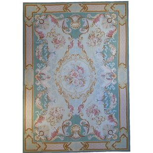Aubusson Rug Blue Uniquely Modern Rugs