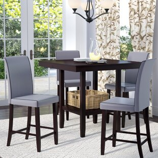 Flynn 5 Piece Counter Height Dining Set