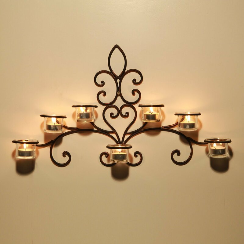 Enchanting Decorative Wall Sconces Candle Holders Elaboration - Wall ...