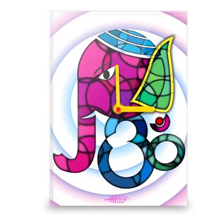 Ganesha Wall Clock by Hourleaf
