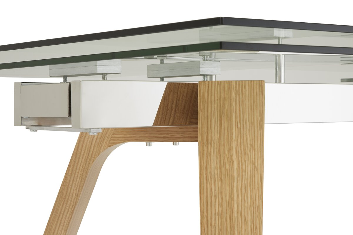 orren ellis essgruppe phelan mit ausziehbarem tisch und 6. Black Bedroom Furniture Sets. Home Design Ideas