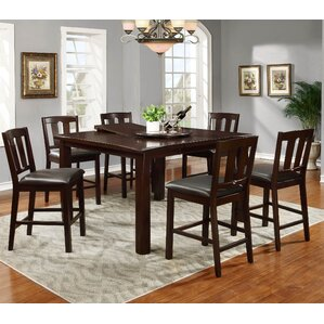 Counter Height Extendable Dining Table by Best Quality Furniture