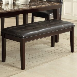 Chaska Upholstered Bench by Loon Peak