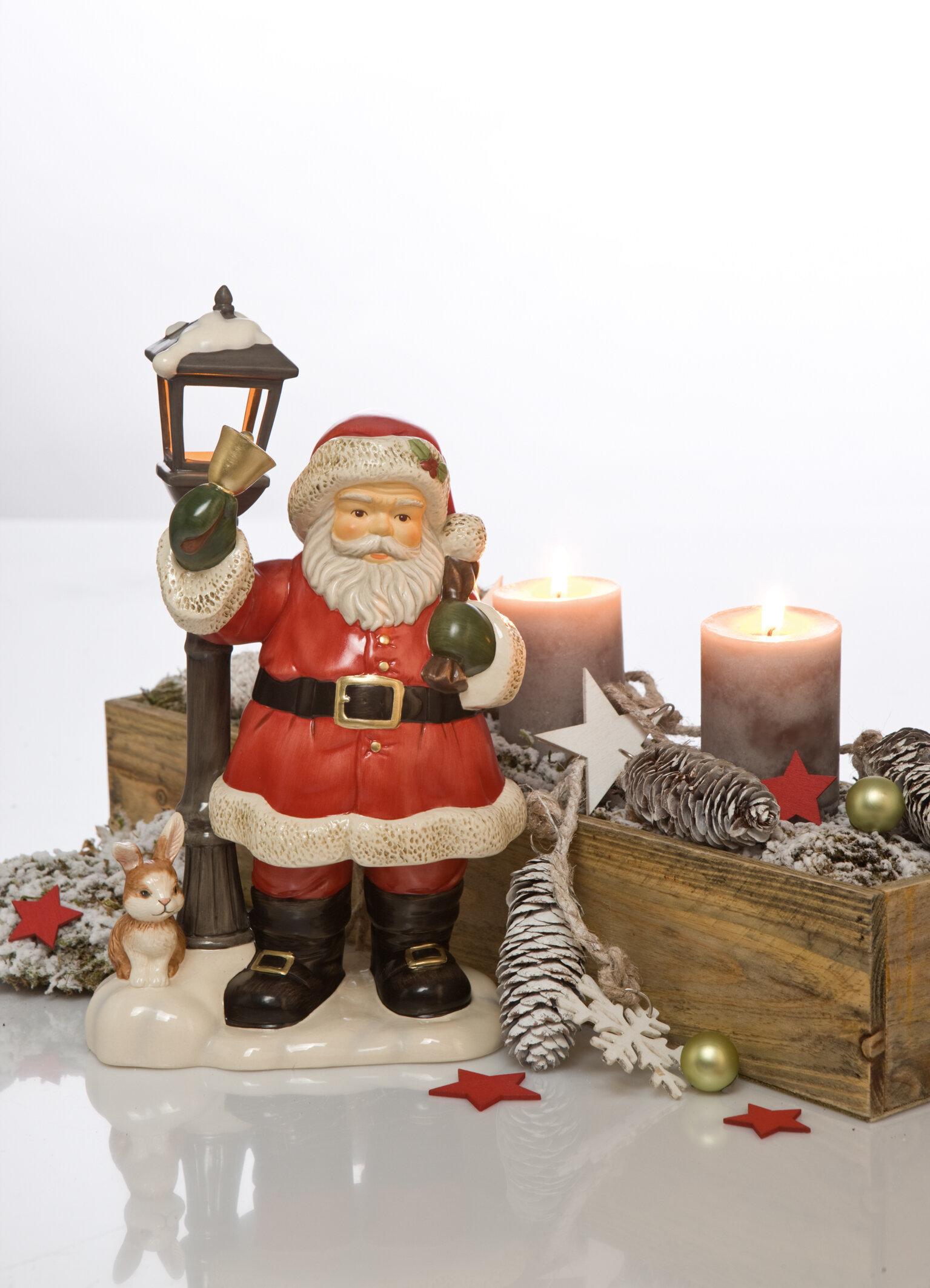Goebel Figur Auf dem Weg zu den Kindern Weihnachten | Wayfair.de
