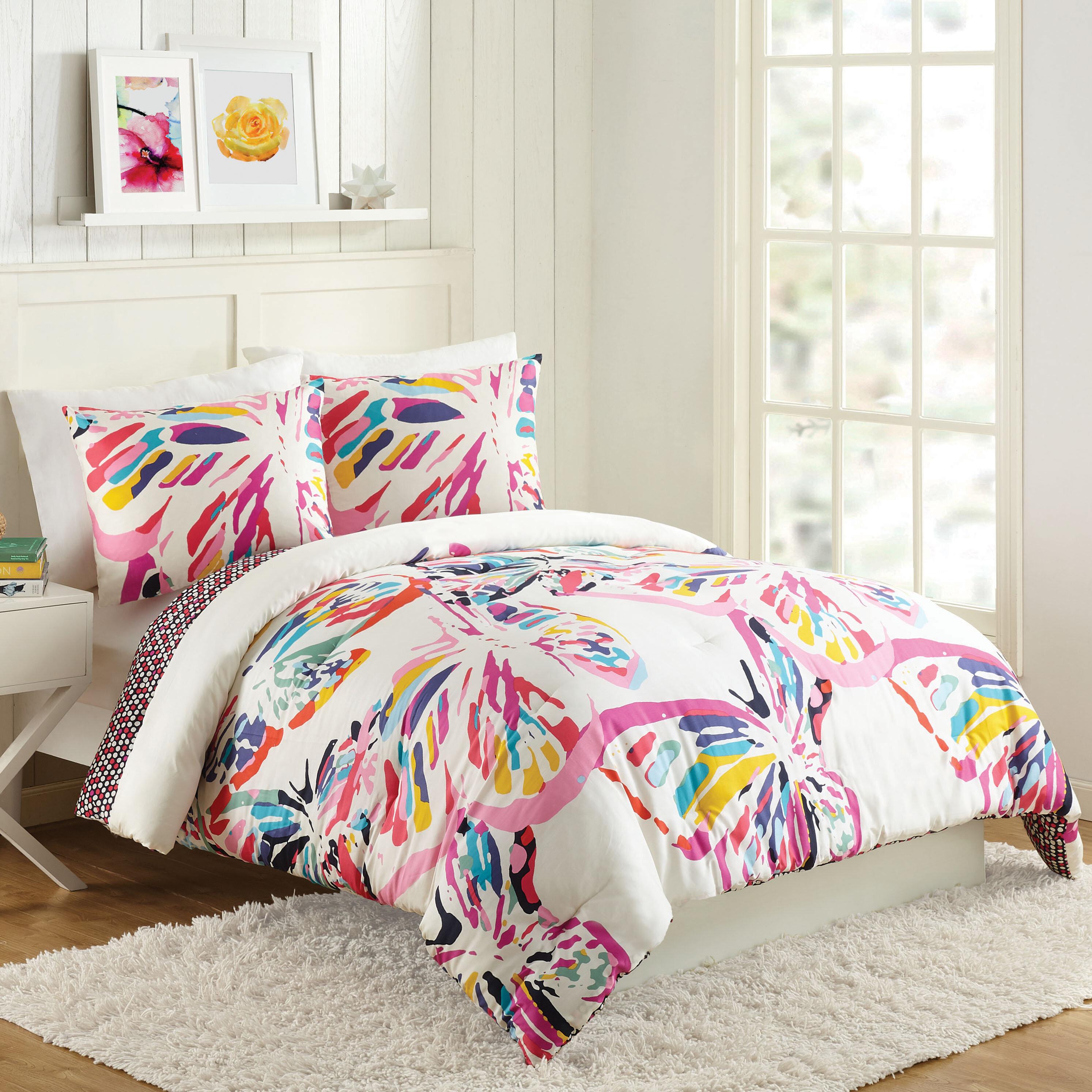 Vera Bradley Butterfly Flutter Reversible Comforter Set Reviews