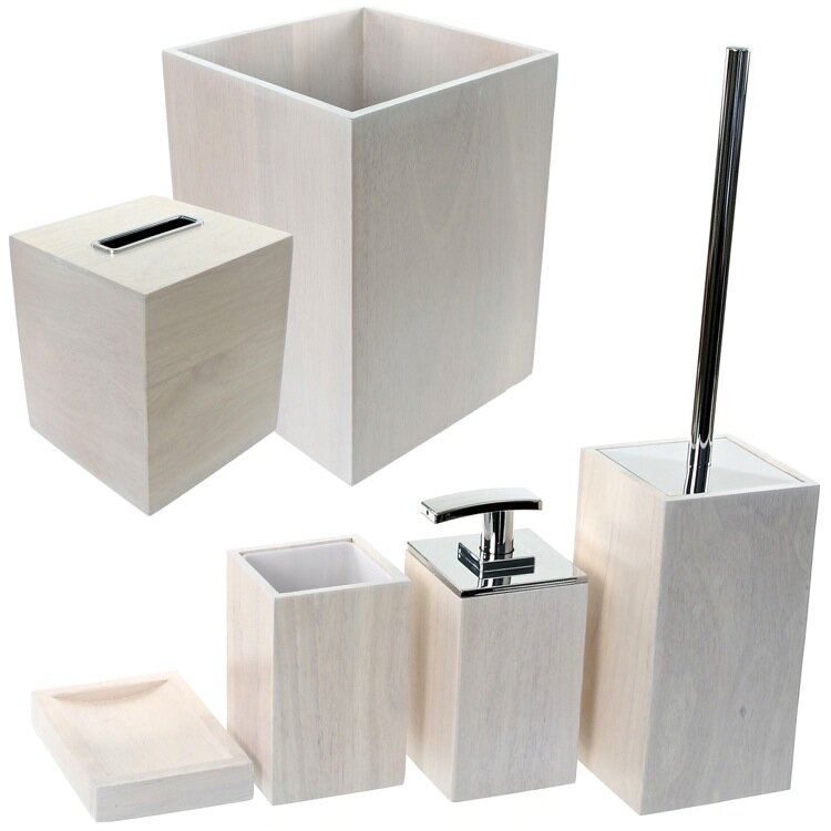 Papiro 6 Piece Bathroom Accessory Set Photo Gallery