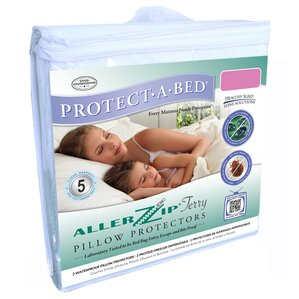 Aller Zip Anti-Allergy & Bed Bug Proof Pillow Encasement by Protect-A-Bed