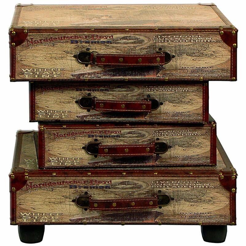 bel tage beistelltisch suitcase mit stauraum bewertungen. Black Bedroom Furniture Sets. Home Design Ideas