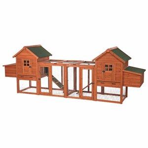 Lowes Duplex Chicken Coop with Outdoor Run
