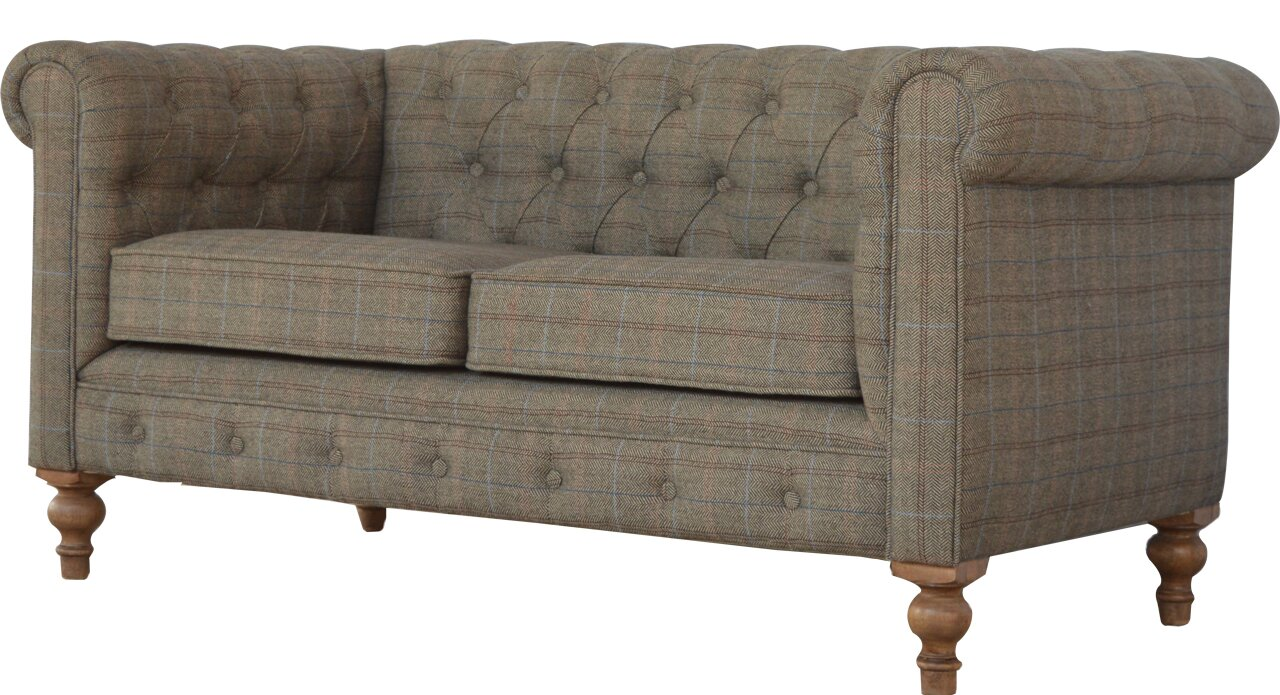 2 Seater Chesterfield Sofa Chesterfield Balm 2 Seater Sofa Settee Antique Tan Leather TheSofa