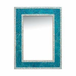 Turquoise Wall Mirror turquoise mirror | wayfair