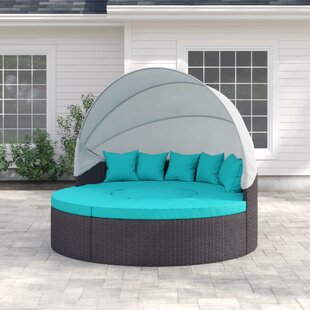 Look Check Price Brentwood Daybed with Cushions Sol 72 Outdoor