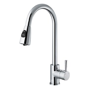 VIGO Weston Single Handle Pull-Down Sp..