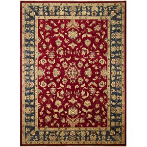 One-of-a-Kind Montagueu00a0Hand-Knotted Classic Red Area Rug