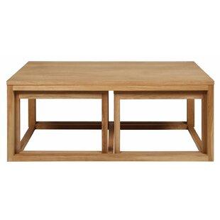 3 piece table set. Staple Hill 3 Piece Coffee Table Set