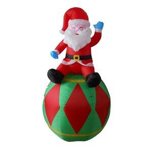 Outdoor Santa Decorations Youu0027ll Love | Wayfair